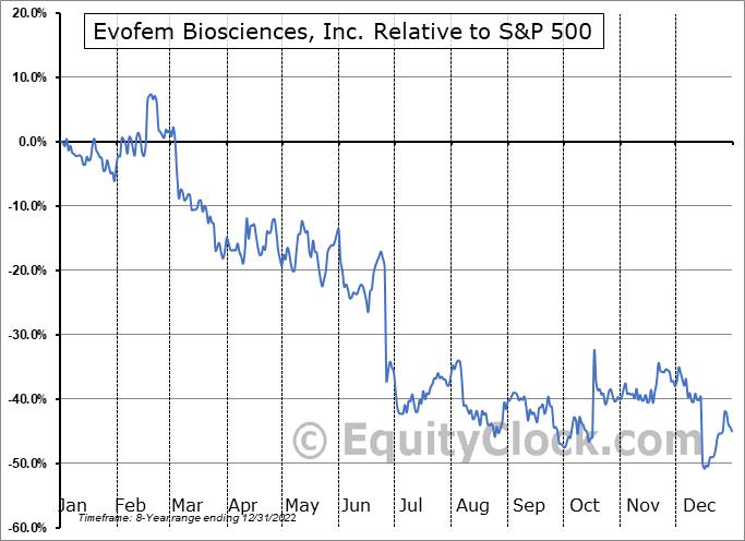 EVFM Relative to the S&P 500